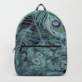 Peacock of Another Color Backpack