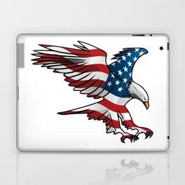 Patriotic Flying American Flag Eagle Laptop & iPad Skin