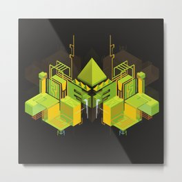Temple of the Weeping Pyramid Metal Print