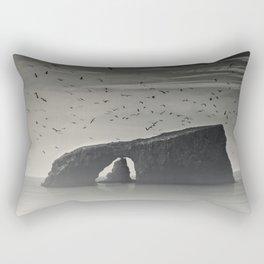 Anacapa Island Arch Rock. Rectangular Pillow
