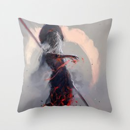 Sathra's Will Throw Pillow