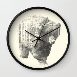 The Mixed Bear Wall Clock