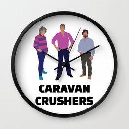 Caravan Crushers Wall Clock