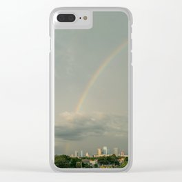 Tampa Across the Rainbow Clear iPhone Case