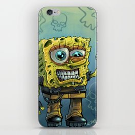 Grunge Bob iPhone Skin