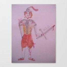 A Battle Scarred Conquistador. Canvas Print