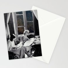 universal reading room Stationery Cards