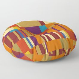 Chopin Prelude (Warm Colours) Floor Pillow