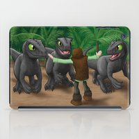how to train your dragon iPad Cases featuring How to Train Your Dinosaur by Jeremy Kohrs