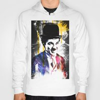 charlie chaplin Hoodies featuring charlie chaplin by manish mansinh
