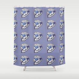 The archangel Shower Curtain