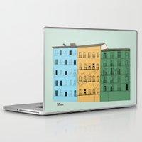 madrid Laptop & iPad Skins featuring Madrid by La Lunga