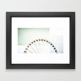 Seattle Eye Framed Art Print