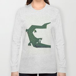 Snapping vintage Alligator Long Sleeve T-shirt