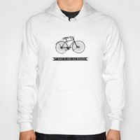 bicycle Hoodies featuring bicycle by Beverly LeFevre