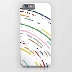 Rainbow Part Disc iPhone 6s Slim Case