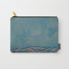 Venice marble (cyan) Carry-All Pouch