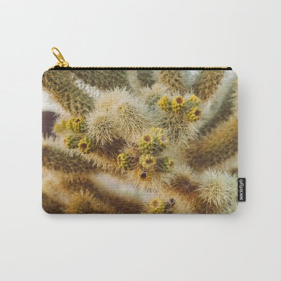 Cholla Cactus Garden IV Carry-All Pouch