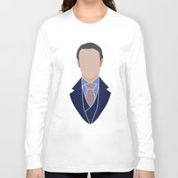 hannibal Long Sleeve T-shirts featuring Hannibal by Alice Wieckowska