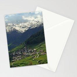 Val di Mazia in Alps, Italy Stationery Cards