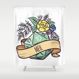 D20 roll Shower Curtain