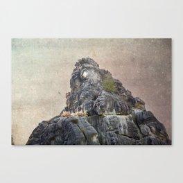 Externsteine top of the rock Canvas Print
