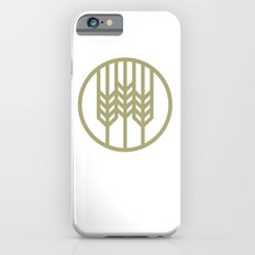 Wheat Circle Graphic iPhone 6s Slim Case