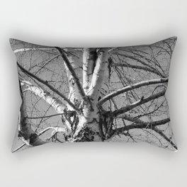 Simple Birch Rectangular Pillow