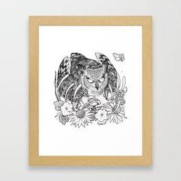 Nightblooms Framed Art Print