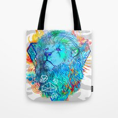 Fire Lion Tote Bag