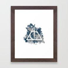 The Deathly Hallows (Ravenclaw) Framed Art Print