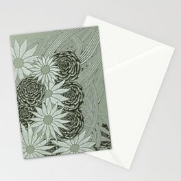 Flowerlines Stationery Cards