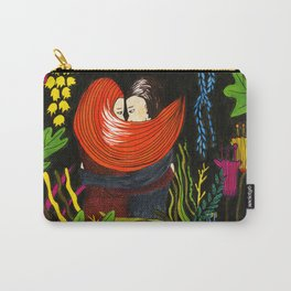 Couple in love in the jungle Carry-All Pouch