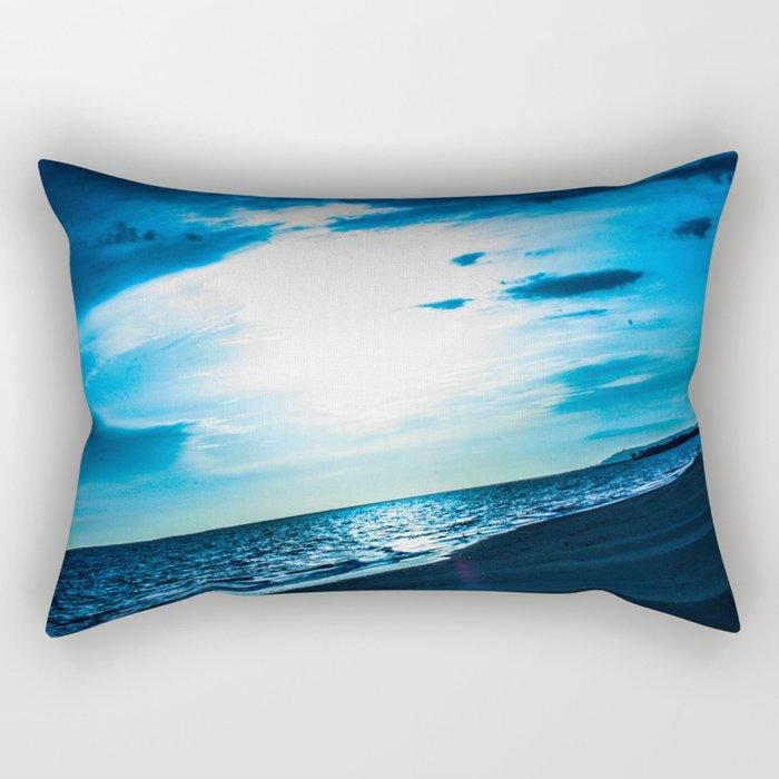 Blue Dream - ILL Design - Roth Gagliano Rectangular Pillow