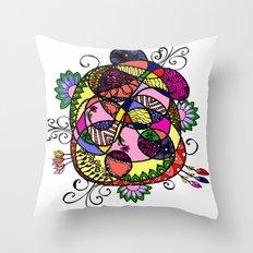 Doodle Fun Throw Pillow