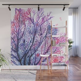 Fan Coral - Purple Wall Mural