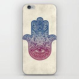 Talk To The Hamsa iPhone Skin