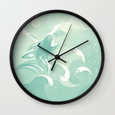 Tale to Tell Wall Clock