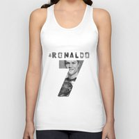 ronaldo Tank Tops featuring Cristiano Ronaldo by Aeriz85