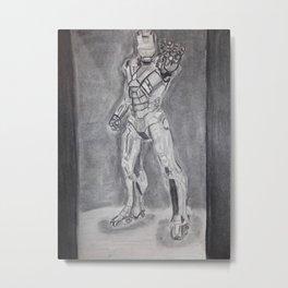 Iron Man Marvel  Metal Print