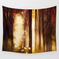 dreams Wall Tapestries featuring Dreams by Viviana Gonzalez