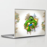 hulk Laptop & iPad Skins featuring Hulk by alexviveros.net