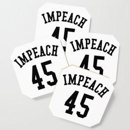 IMPEACH 45 Coaster