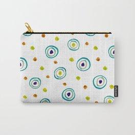 Motif ronds dans l'eau - décoratif Carry-All Pouch
