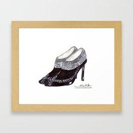 Manolos so French  Framed Art Print
