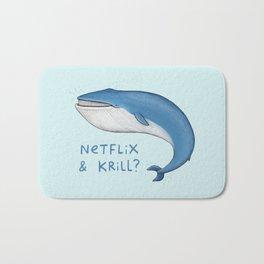 Netflix & Krill Bath Mat