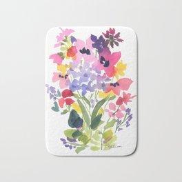 Petite Wildflowers Bath Mat