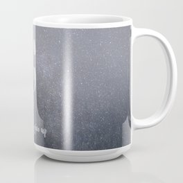 starlight glitter forest semicolon // don't give up Coffee Mug