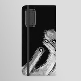 Michael Smoking B&W Android Wallet Case