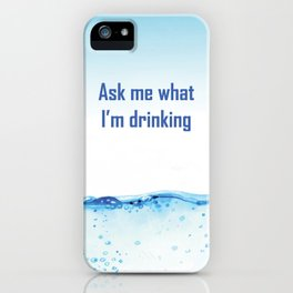 water 6 iPhone Case